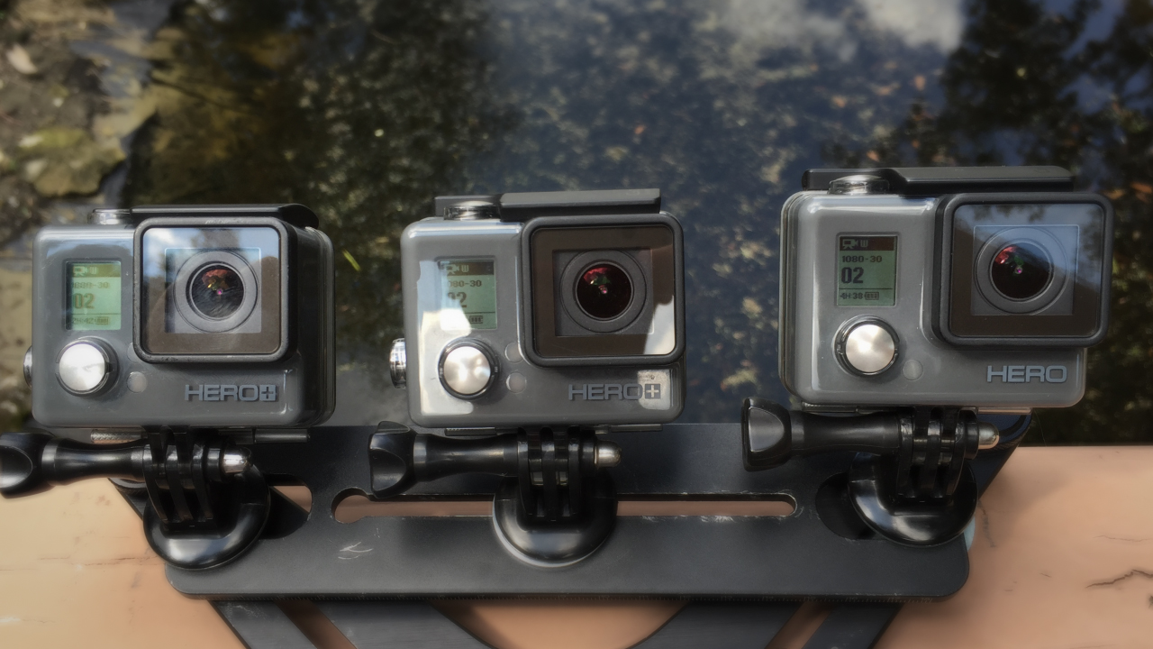 how to turn off gopro hero+ lcd